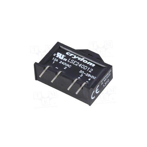 LSE240D12 PCB Mount LSE240D 12 SSR RELAY SPST-NO 12A 24-280V LSE240 D12 LSE 240D12