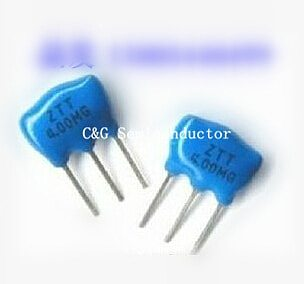 20pcs Ceramic Resonators ZTT 4MHZ 4.000MHZ 4M 3P DIP-3
