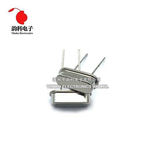 10pcs DIP HC-49S 4.433MHz 4.433619mhz 20ppm 20pF quartz resonator