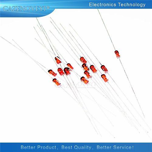 100pcs/lot 1W 5.1V 1N4733A 5V1 1N4733 DO-41 Zener diode
