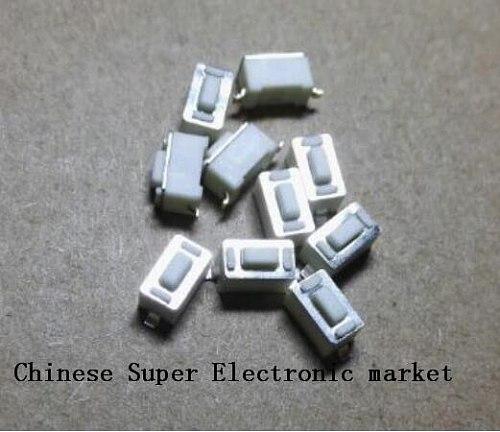 10PCS  3*6*4.3mm 3x6x4.3mm  white SMD push button switch microswitch Tact Switch