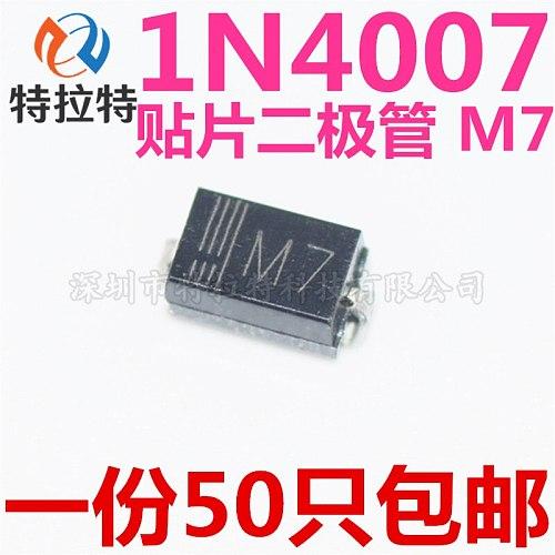 100pcs SMD diode 0805 SOD-123 1N5819 1N4007 1N4148 SOD123 SOD-323 1206 1N4148WS 1N5819WS B5819WS SOD323