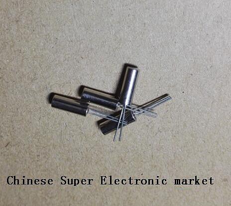 10PCS  Frequency Resonator Oscillator Crystal Cylender 3*8mm 3X8mm 20MHZ 20.000 MHz Quartz Crystal