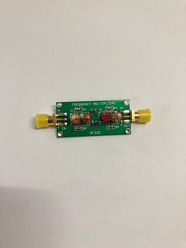 1pcs Frequency multiplication 1~200 MHz SMA interface of RF frequency multiplier module