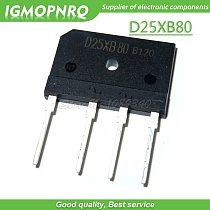 10PCS D25XB80 D25SBA80 ZIP 25A 800V bridge rectifier electromagnetic furnace new original
