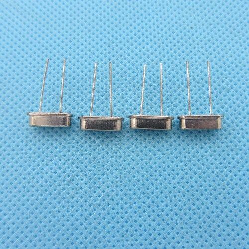 10pcs/lot Crystal Oscillator 7.6MHz 7.6 MHz 7.6M Hz Mini Passive Resonator Quartz  HC-49S