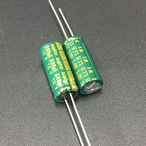 10pcs 680uF 16V SANYO WX Series 8x20mm Low Impedance 16V680uF Motherboard Aluminum Electrolytic Capacitor