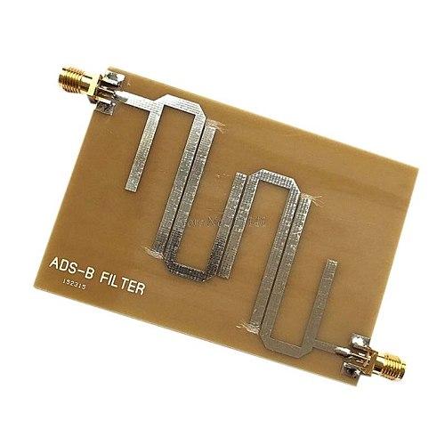 ADS-B Microstrip Bandpass Filter 1090Mhz Lan Transmission Range 1-1.2GHz for SDR Receiver Board Dropship