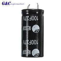 1Pcs NEW Super capacitor 2.7V100F ultra capacitor farad capacitor 2.7V 100F diy electronics