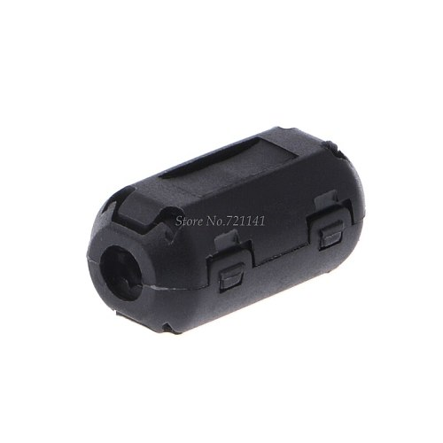 7mm Ferrite Core Cord Ring Choke Bead RFI EMI Noise Suppressor Filter for Power Cord USB Cable Antenna Audio Cable Dropship