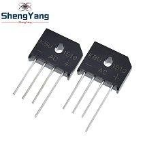 5PCS/lot diode bridge retifica KBU1510 DIP KBU-1510 15A 1000V ponte retificador electronica componentes KBU 1510