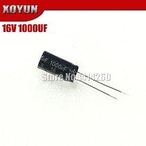 10PCS Higt quality 16V1000UF 10*13mm 1000UF 16V 10*13 Electrolytic capacitor