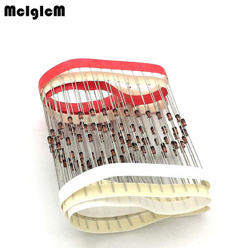 MCIGICM 100pcs do-35 1N4148 IN4148 High-speed switching diodes
