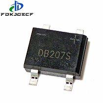 10PCS/LOT DB207 SMD B207 DB207S SMD SOP Bridge Rectifiers 1000V 2A new original