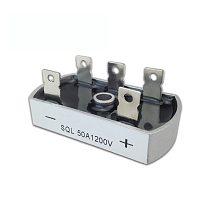 50A 1200V Aluminum Metal Case 3 Phase Diode Bridge Rectifier 50Amp SQL50A Module