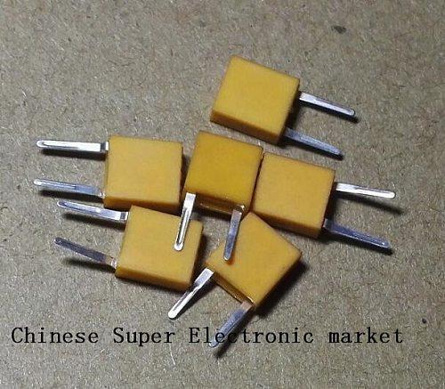 50PCS 455E passive crystal oscillator 455KHZ passive crystal resonator 455 KHZ DIP 455K CERAMIC FILTER