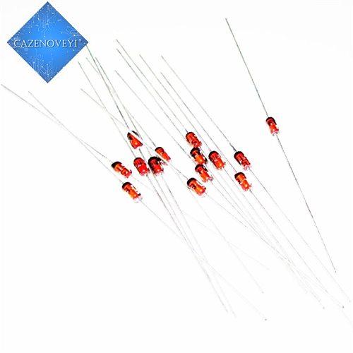 100pcs/lot 1W Zener diode DO-41 3V 3V3 3V6 3V9 4V3 4V7 5V1 5V6 6V2 6V8 7V5 8V2 9V1 10V 11V 12V 13V 15V 1N4733A 1N4742A 1N4728A