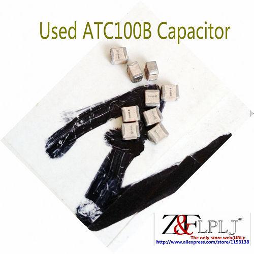 Porcelain Multilayer High-Q RF Power Capacitors ATC100B130JT500XT 13pF 500V a130J / ATC100B160JW500XT 16pF 500V a160J USED 20PCS