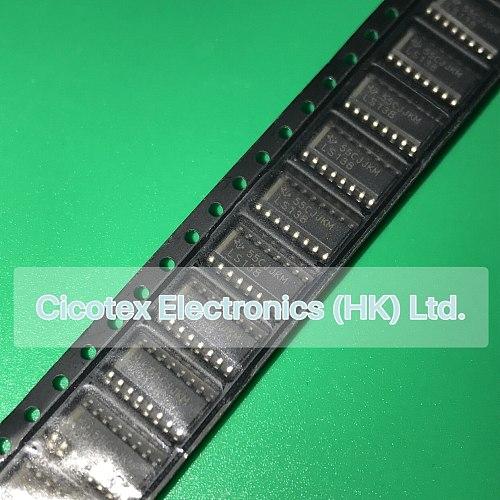 10pcs/lot SN74LS138DR SOP16 SN74 LS138 DR IC 3-8 LINE DECODER/DEMUX 16SOIC SN74LS138DRG4 DM74LS138M