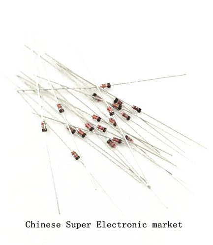 50PCS switching diode 1N914 IN914  line DO-35