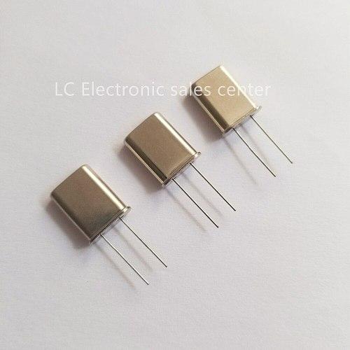 10pcs In-line crystal oscillator 49U crystal resonator U type 4.000MHZ 4MHZ 4M