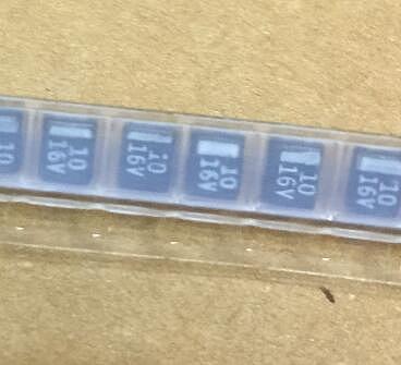 50pcs SMD B Type 10uF 10% 16V Tantalum Capacitor