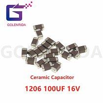 100pcs 100uF X5R 20% 16V 1206 107 smd capacitor