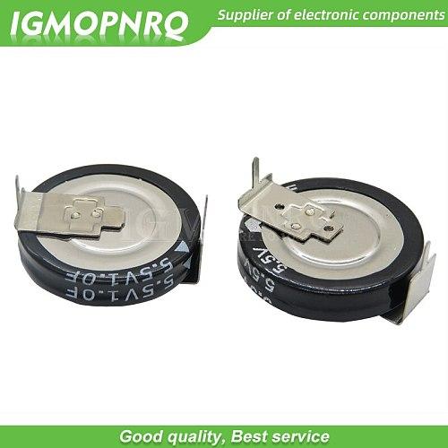 1PCS 5.5V H-type Super capacitor 0.1F 0.22F 0.33F 0.47F 1F 1.5F 4.0F Button Farad capacitor new