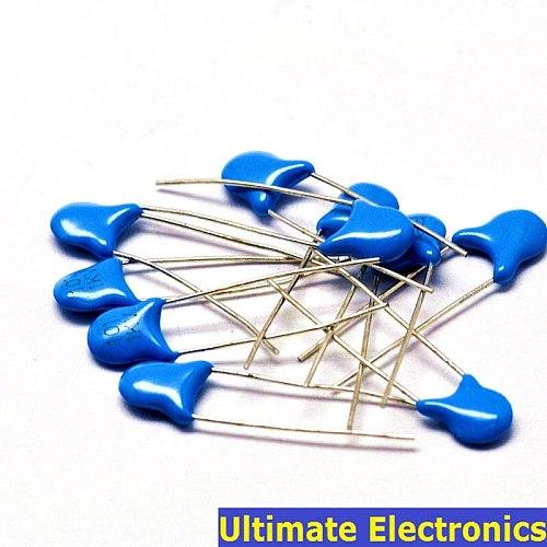 20pcs 100pF 101 1KV High Voltage Ceramic Disc Capacitor