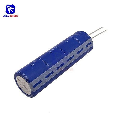 Super Farad Capacitor 2.7V 100F 18*60mm High Frequency Low ESR 2.7V100F Super Capacitor for Car Stereo Speaker Battery