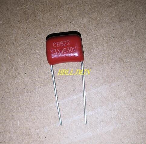 10 PCS CBB 333K 333J 630V 333 630V 0.033uF 630V 33nF 630V Polypropylene Capacitors