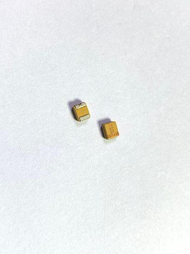 10Pcs/Lot/ CASE B 10uF 16V 25V 106K 106 3528 Tantalum Capacitor T491B106K016AT