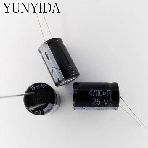 5PCS   4700UF 25V   16x25   Aluminum electrolytic capacitor