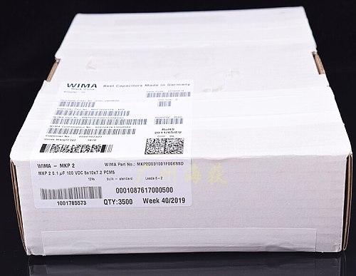 30pcs/lot German WIMA MKP2 104 100V 100nf 0.1UF 100V original authentic free shipping