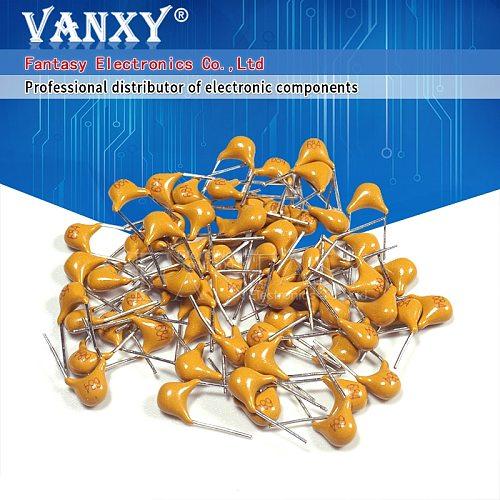 100PCS 220NF 0.22UF 20% 5.08MM 224 50V MLCC multilayer monolithic ceramic capacitor 0805