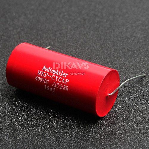 1pcs 15UF 400V Audiophiler MKP-kondensotor Film Sound Capacitor Audio Capacitor