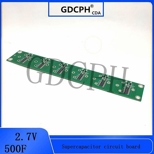 2.7v500f 2.5v700f 16v83f carro super módulo 2.5 v600f capacitor farad placa de circuito 2.7v360f 350F 400F