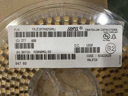 50pcs/lot Original Advanced Electronic Components SMD tantalum capacitor A/B/C series 20% free shipping