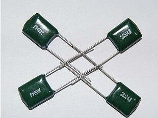50PCS 100V 2A682J 2A822J 2A272J 2A332J 2A392J 2A472J 2A562J Polyester capacitor 100V 4.7/5.6/6.8/8.2/0.00/2.7/3.3/3.9/NF/UF