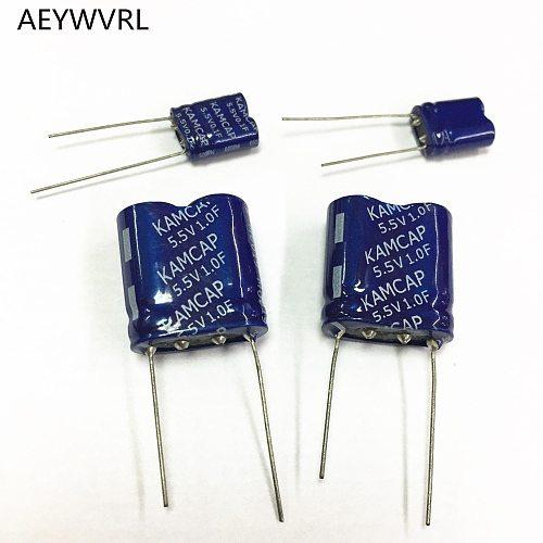 super capacitor farad capacitor combination type 5.5V 0.1F 0.33F 0.47F 1F 1.5F 2F 3.5F 5F 7.5F