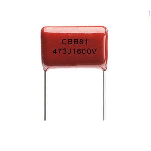 10PCS 1600V 473J 47nF 0.047uF P-20MM CBB capacitor