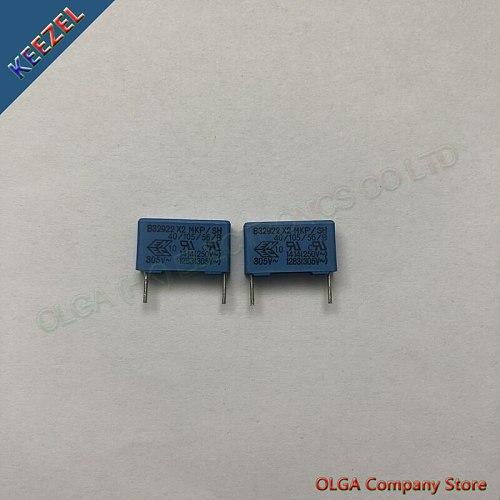 B32922 X2 safety film capacitor 0.1UF 305V 100NF 305VAC P=15mm .