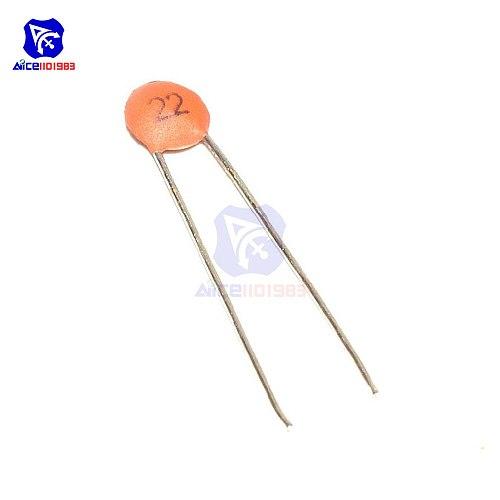 100PCS/Lot DIP Low Voltage Ceramic Disc Capacitors 22pF 50V