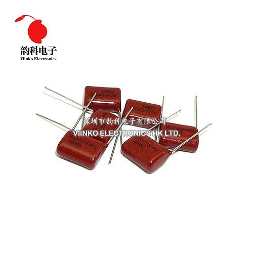 10pcs CBB Polypropylene film capacitor pitch 15mm 334 330nF 630V