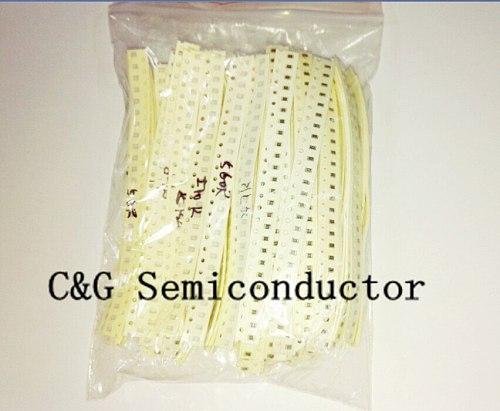 0805 SMD Resistor Kit Assorted Kit 1ohm-1M ohm 1% 33valuesX 20pcs=660pcs Sample Kit
