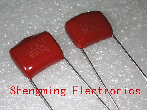 100pcs 400V 104J 0.1UF 100NF p=10mm CBB capacitor
