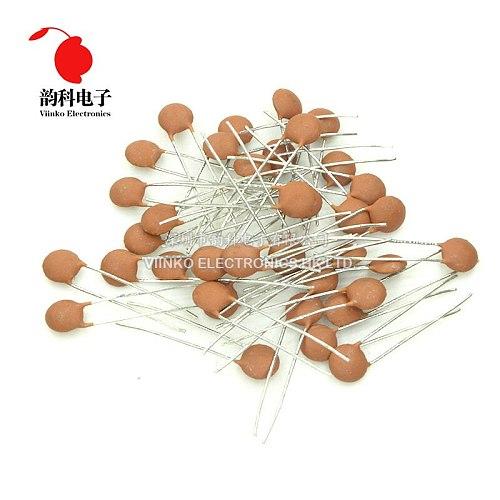 1000pcs Ceramic capacitor 50V 2PF 2P