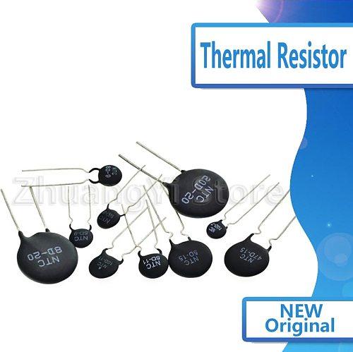 10pcs/lot 10pcs/lot Thermal Resistor NTC 5D-7 5D-9 5D-11 5D-15 5D-20 8D-20 10D-9 10D-11 10D-13 10D-15 10D-20 10D-25 47D-15