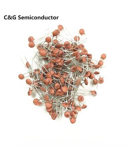 200 PCS 27pF/50V DIP-2 Ceramic disc capacitors 50V 27pF (20PF 22PF 25PF 30PF 33PF 39PF 47PF
