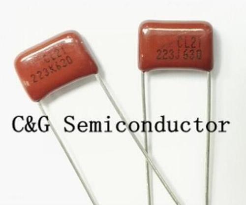 50 PCS CBB 223K 223J 630V 223 630V 223 0.022uF 630V 22nF 630V Polypropylene Capacitors